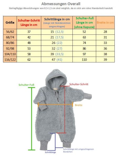 Overall Softshell Bunt Dino